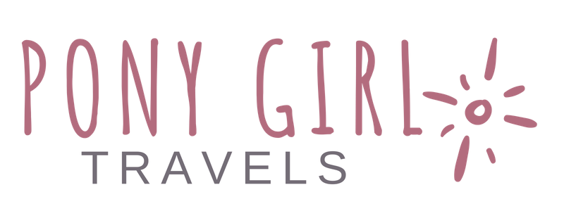Pony Girl Logo Horiz